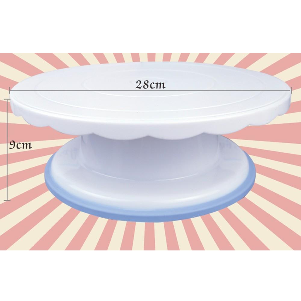 Cake-Swivel-Plate-Revolving-Decoration-Stand-Platform-Turntable-28cm-Round-Rotating Cake-Swivel-Plate-Christmas-Baking-Tools-CT1030 (2)