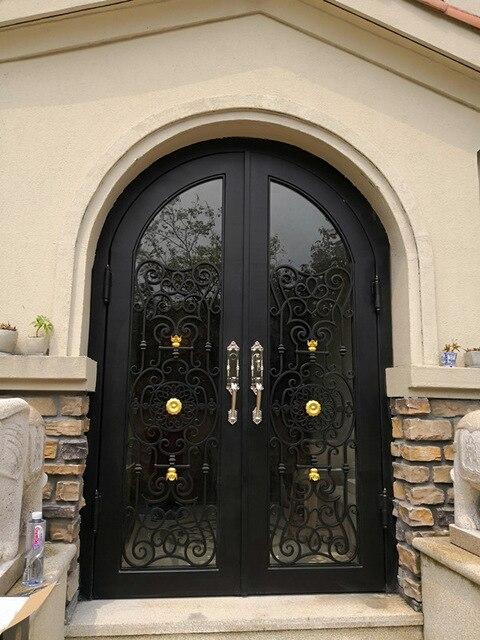 Metal House Doors  Iron Frame Door Wrought Doors