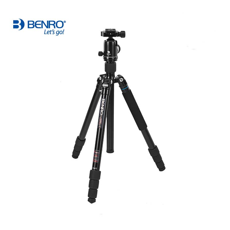 DHL gopro Benro A3282TV3 Aluminium Monopod Tripod+ Ball Head Tripod Monopod 25kg  Max Load Portable  Alpenstock 3 in 1 wholesale dhl gopro benro a2192tb1 tablet series travel portable tripod aluminum tripod kit wholesale