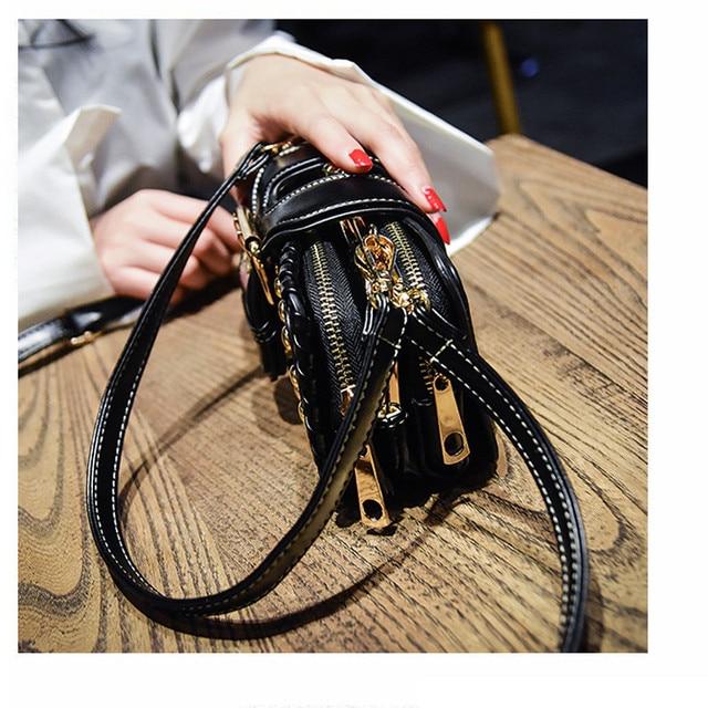 UKQLING Brand Crossbody Bags for Women Bag Lady Clutch Purse Handbag Rivet Rock Style Messenger Shoulder Handbags Sac a Main