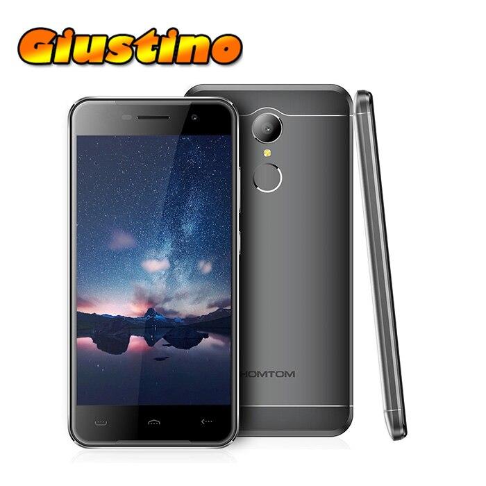 Original HOMTOM HT37 Android 6 0 MTK6580 Quad Core GPS Smartphone 2GB RAM 16GB ROM Fingerprint