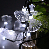 6m 30leds Morning Glory Battery Operated LED String Lights Waterproof Christmas Fairy Lights Party Garden Holiday Decoration