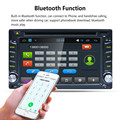 "TOP Quility Big Display Android Wifi GPS Nav Car In Dash USB/SD/AUX/MP3/CD DVD Player 6.5 ""Double DIN FM #1209"
