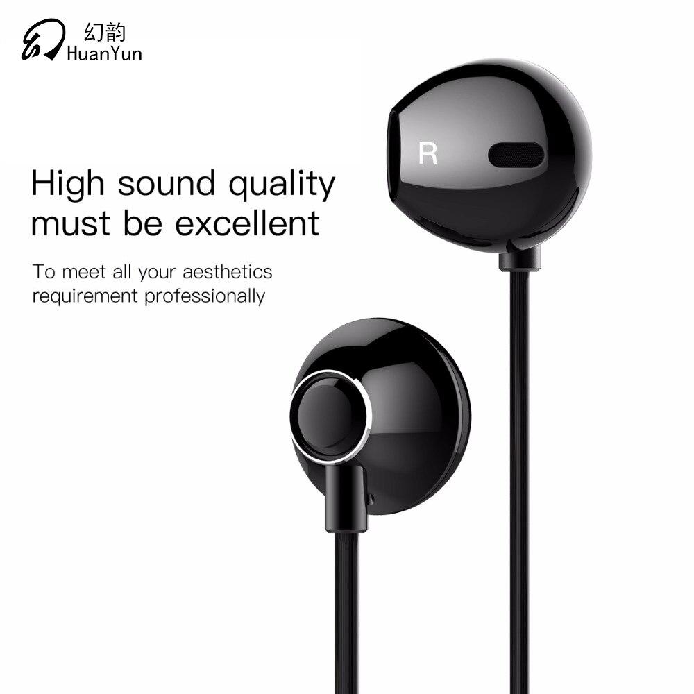 Wired Earphones In-Ear Metal Headsets Sport Stereo Earbuds f