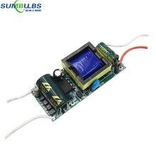 5W 10W 15W 20W 25W 30W 35 Вт с драйвером постоянного тока для светодиода 300mA AC 100V 220V DC/DC конвертер Питание трансформатор доска 50/60hz