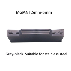 Image 2 - Insert MGMN150 MGMN200 MGMN250 MGMN 300 4mm 5mm PC9030 Carbide Inserts Machining Stainless Steel Grooving Turning Cutting Tool