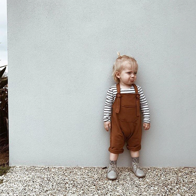 New Summer Toddler Overalls Baby Suspender Pants