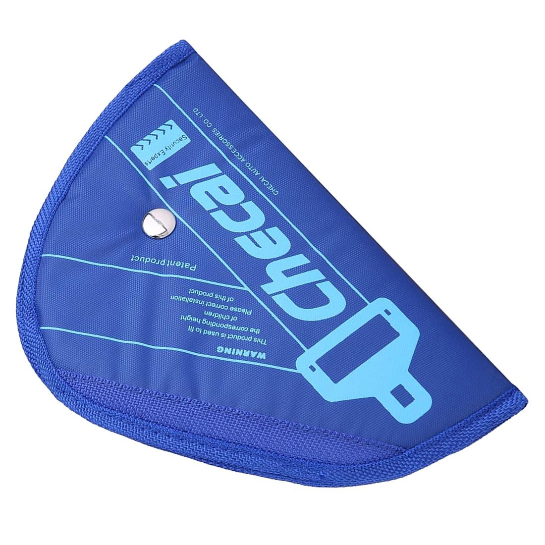 CHECAI Child Kids Baby Adjustment Auto Car Belt Adjuster Safety Seat Belt Positioner Blue