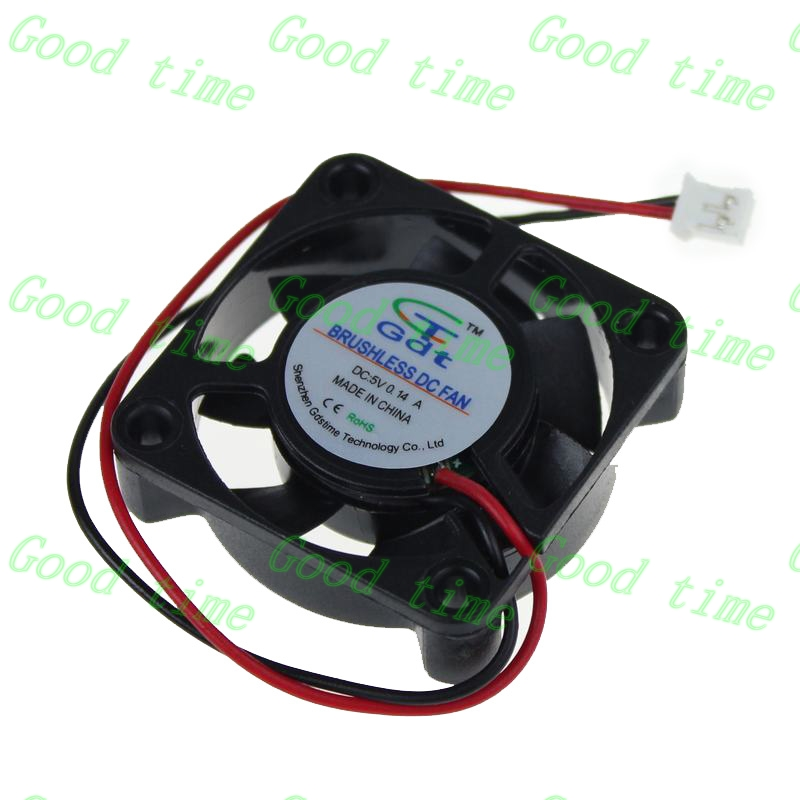 Gdstime 10 pcs 5V 40x40x10mm DC Brushless mini Cooling Fan 40mm x 10mm Computer Cooler 2.0 2Pin Connector 2 Wire 4cm 2pcs 12v mini cooling computer fan small 40mm x 10mm dc brushless 2 pin 3000rpm 40 oil bearing 2018
