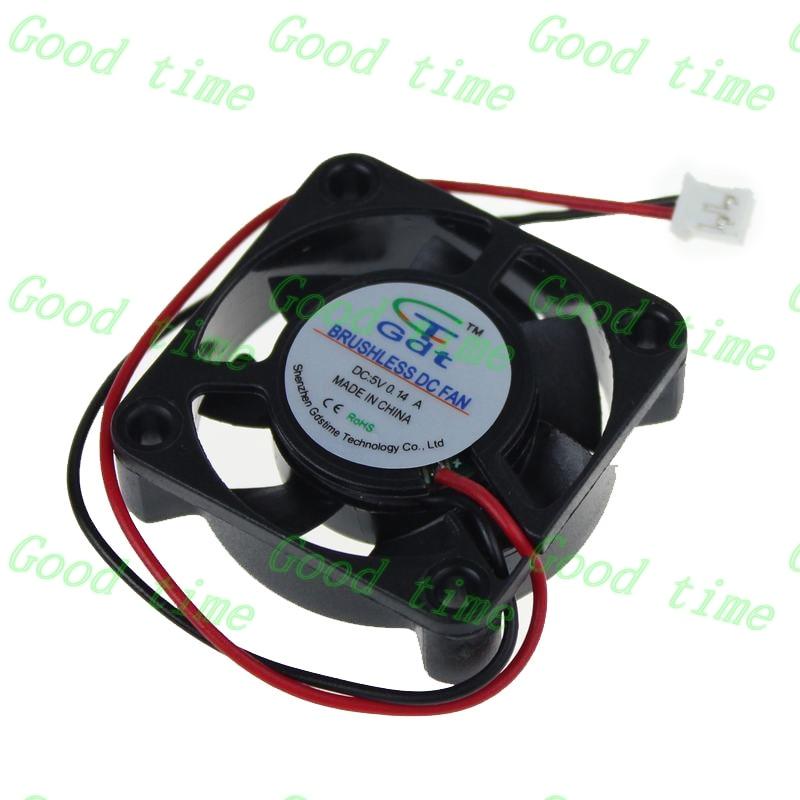 все цены на Wholesale Gdstime 10 pcs 2pin 2 wire 4cm 40mm 40x40x10mm Brushless mini Cooling Computer fan DC 5 V 1.57 онлайн