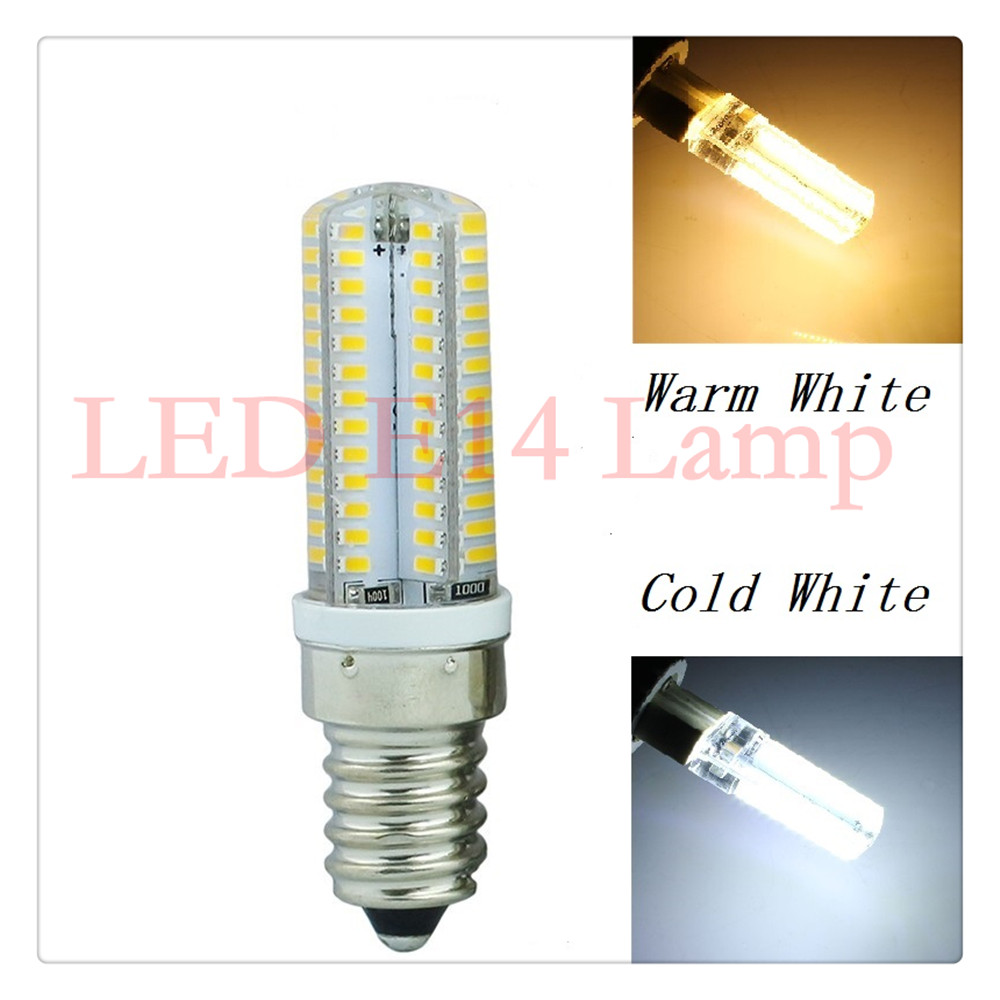 lampada led E14 110v 220v 6W 9W led bulb smd 3014 silicone body light warm white Replace Halogen Lamp Crystal Chandelier mini led lampada dimmable g9 e14 cob 9w led lights silicone crystal lamps ac220v chandelier crystal light warm cool white bulbs