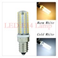 lampada led E14 110v 220v 6W 9W led bulb smd 3014 silicone body light warm white Replace Halogen Lamp Crystal Chandelier