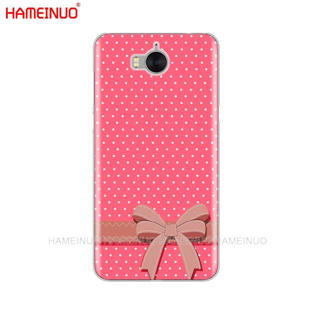 HAMEINUO kropki na telefon komórkowy etui na Huawei honor 3C 4X 4C 5C 5X6 7 Y3 Y6 Y5 2 II Y560 2017