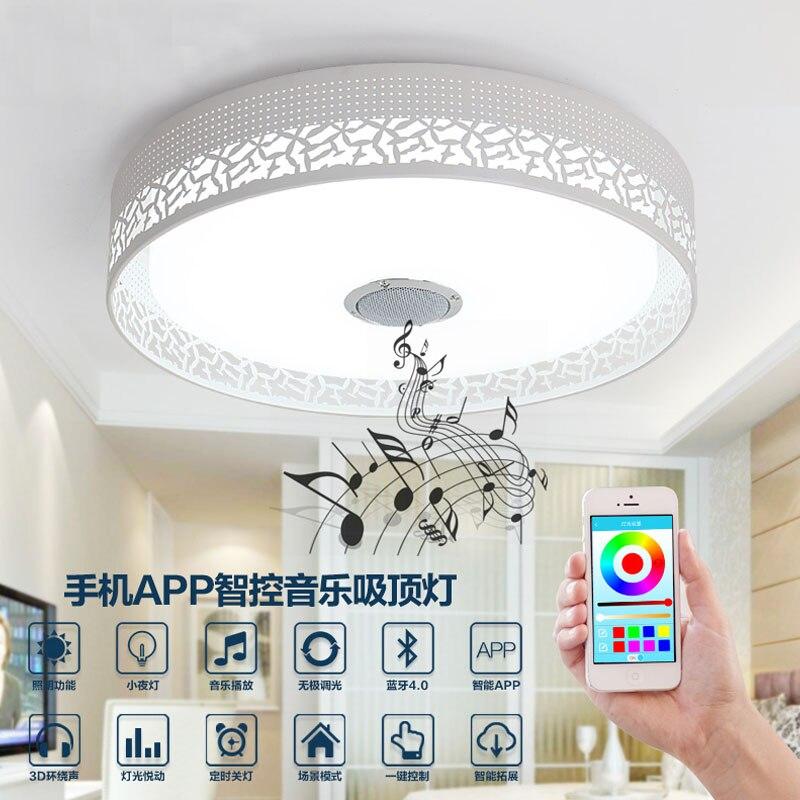 Verschiffen Zimmer Home Led Wohnzimmer 0smart Emsdhl In Musik App Bluetooth Deckenleuchte Us399 Schlafzimmer Geben Smart Lampe SGLzVjUMqp