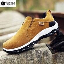 2018 spring new men sneakersTop Brand Men Hiking Boots Waterproof Hiking Shoes Genuine Leather Outdoor Sneakers for Men 39-44