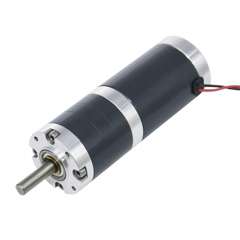 Motor elétrico planetário alinhado dc do motor 24 v da engrenagem da c.c. de tgx45rgg 4/10/15/30/60/150 rpm para a porta automática