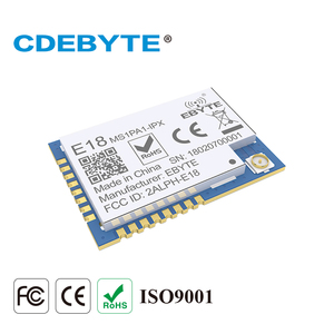 Image 3 - 10Pcs CC2530 Zigbee Module 100Mw 2.4Ghz Pa Soc Iot Radio Transceiver Ebyte E18 MS1PA1 IPX