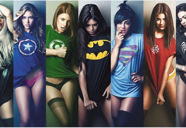 Free shipping,Superhero Justice League,girls T-shirt ,Poster HD HOME WALL Decor Custom ART PRINT Silk Wallpaper unframed -1909