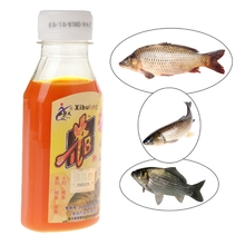90ml Fishing Bait Artificial Lure Liquid Carp Flavor Additive Fishy Smell Bottle