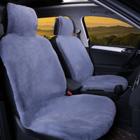 Car Fur Seat Cover Autumn&Winter Automobiles Front Seat Covers Universal High Quality Warm Plush Seat Cushion Protector 1 Piece