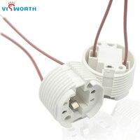 VisWorth 3A 220V G24 Base de enchufe lámpara Led convertidor adaptador soporte 2Pin con cable para luz Led