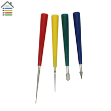 New 4pc Mini Files Diamond Dust coated Pearl Bead Reamer Set Beading Hole Reamer Burr Jewelry Woodworking Tools 0.5mm to 5.5mm
