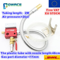 [EU Delivery] Metal cooling water pipe Mist Coolant Lubrication Spray System Metal hose for CNC Lathe Milling Machine