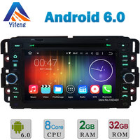 Android 6 0 Octa Core 2GB RAM 32GB ROM Car DVD Player Radio Stereo GPS For