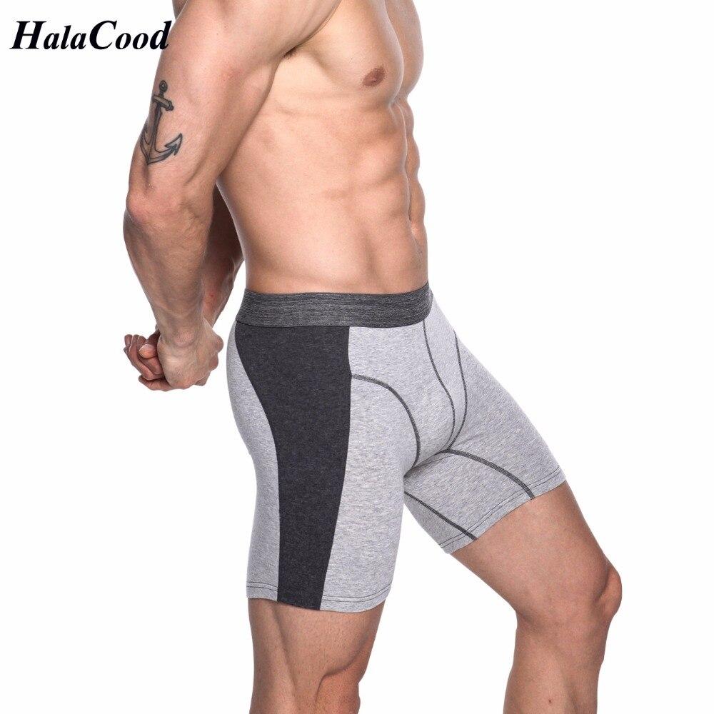 2019 New Fashion Plus Size Long Boxer Men Underwear Cotton Man Breathable Boxers Underpants Male Panties Hombre Boxers Shorts