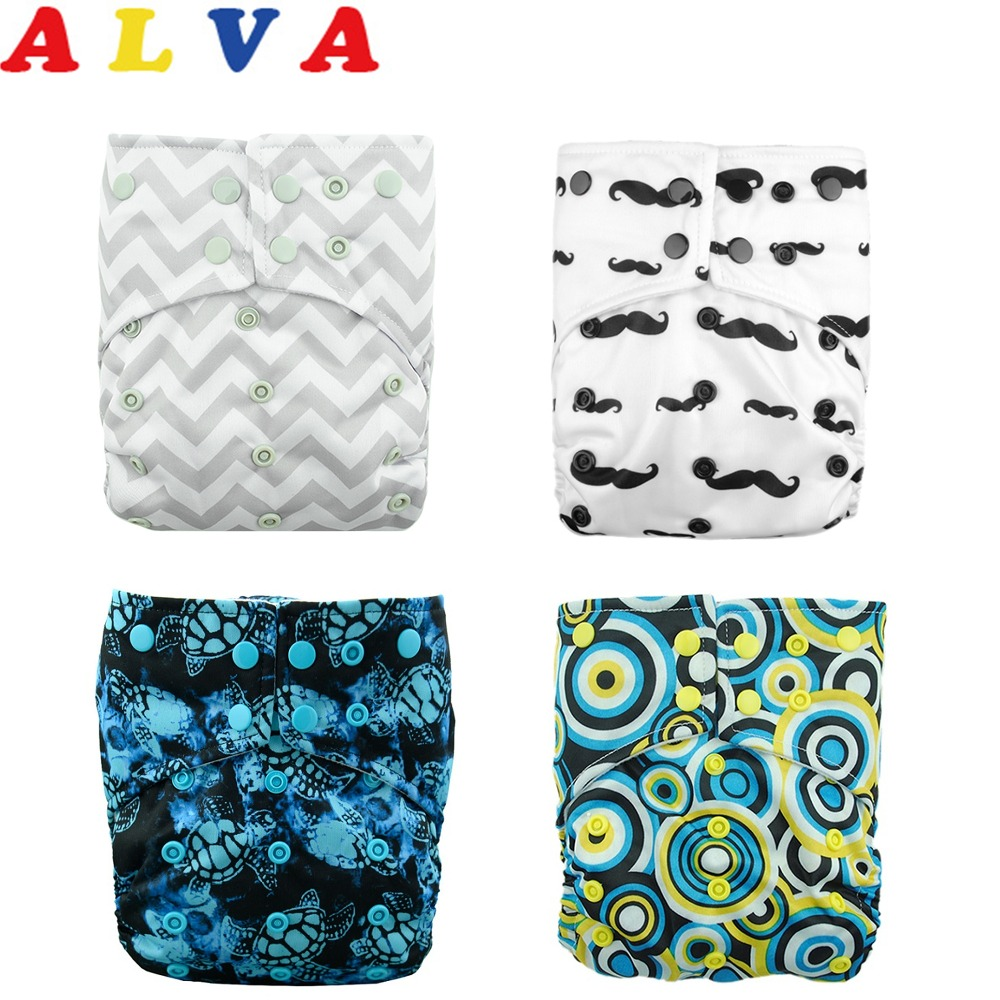 Alvababy Diapers Nappy Insert Double-Gusset-Cloth AI2 with 1pc U-Pick title=