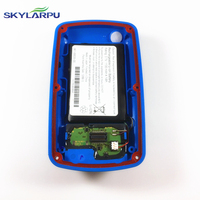 Skylarpu Blue Rear Cover For GARMIN EDGE 800 Bicycle Speed Meter Back Cover With Battery Repair