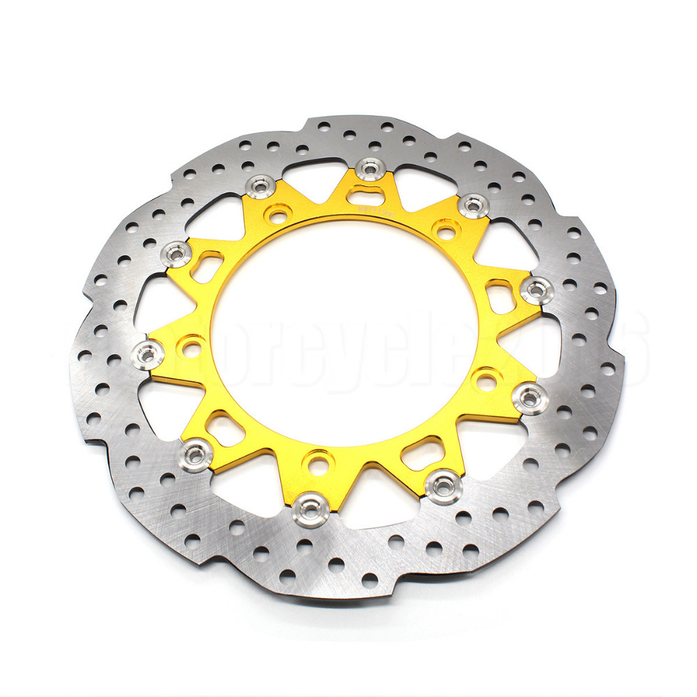 FXCNC Racing Motorcycle 300mm Front Floating Brake Disc Rotor For Honda CB190R CB 190R Motorbike Accessories Moto Replacement motorcycle accessories front brake discs rotor for suzuki gsf1200 2006 06 motorbike accessories front brake cn
