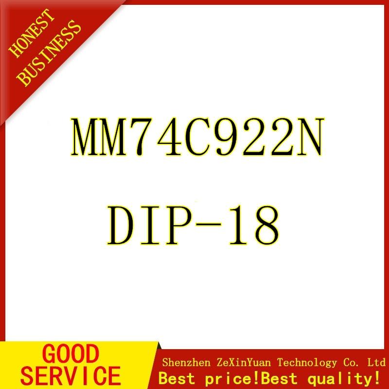 5PCS/LOT MM74C922N MM74C922 74C922N 74C922 DIP Made In China