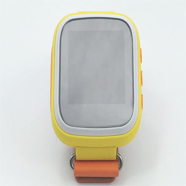 2016 kid gps smart watch relógio de pulso dispositivo de chamada sos localização rastreador para o miúdo presente q80 monitor do bebê seguro anti perdido