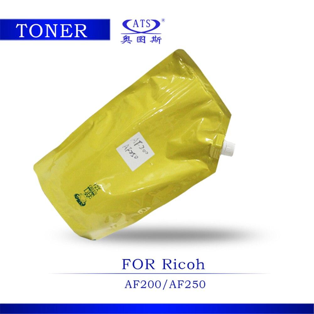 ФОТО 1PCS 1KG Toner Poudre Photocopy machine Toner For Ricoh copier parts AFicio AF200 250 Toner Powder AF 200 250