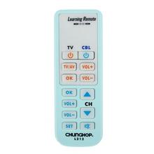 Controlador de mando a distancia inteligente Universal, función de aprendizaje para TV, CBL, DVD, SAT L212, copia de chunghome