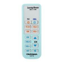 Télécommande intelligente universelle apprendre la fonction pour TV CBL DVD SAT L212 copie Chunghop