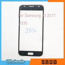 Wholesale Front Outer Glass For Samsung Galaxy J3 J5 J7 2017 J330 J530 J730 аксессуар защитное стекло samsung sm j330 galaxy j3 2017 aksberry