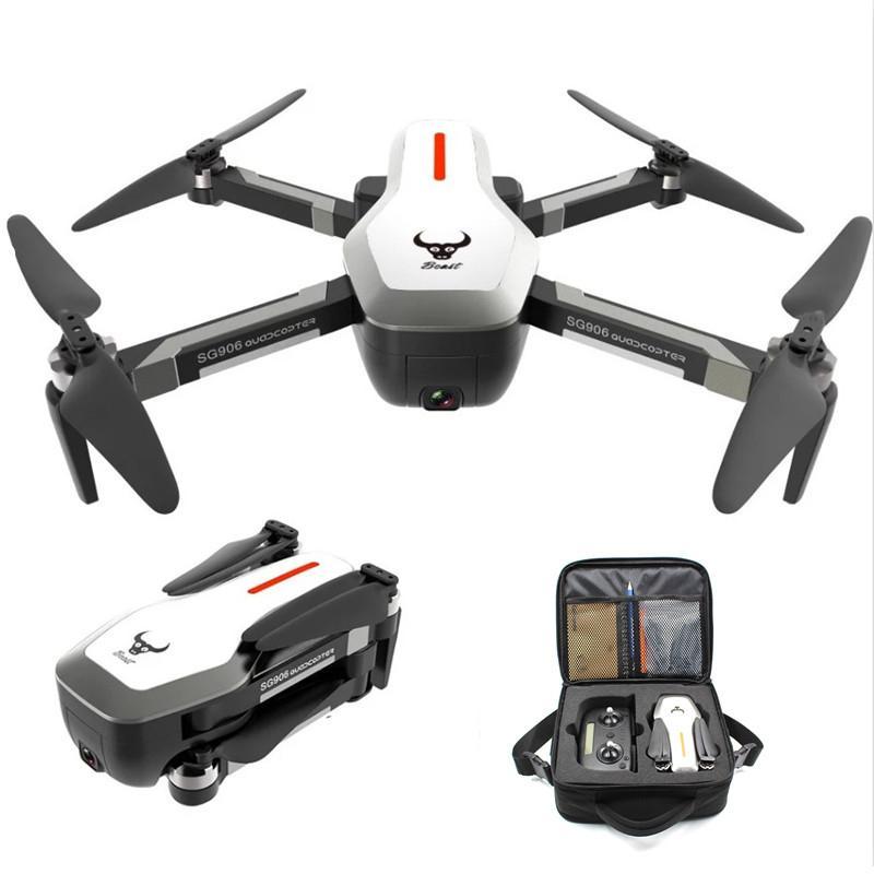 Bête SG906 5G Wifi GPS FPV Drone avec caméra 4K Mode de maintien élevé avec sac à main RC quadrirotor Drone RTF