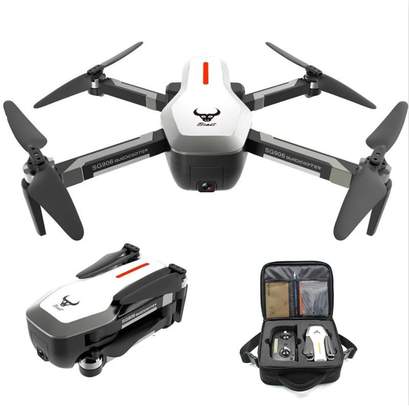 SG906 GPS 5G WIFI FPV Foldable 1080P Camera RC Drone w// 2*Batteries Carry Bag z