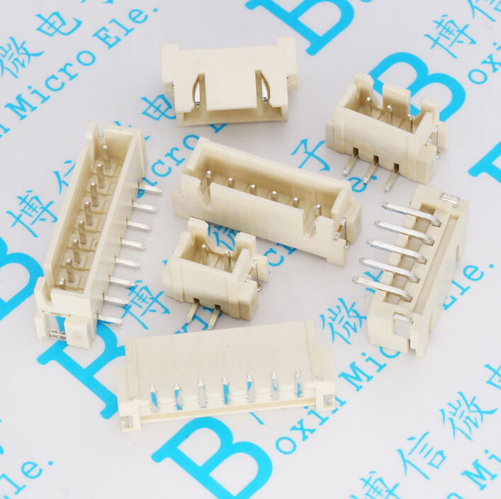 Li posted XH2.54mm pitch connector 2P / 3P / 4P / 5P / 6P / 7P / 8P Vertical SMD socket
