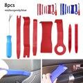 8 шт./компл.  пластиковый инструмент для ремонта приборной панели  дверной зажим  панель для удаления  установщик открывания  инструмент для ...