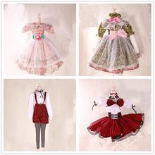 Платье Лолиты ручной работы; Одежда для девочек; женская одежда; пальто для 60 см; Bjd 1/3; аксессуары для кукол; Игрушки для девочек
