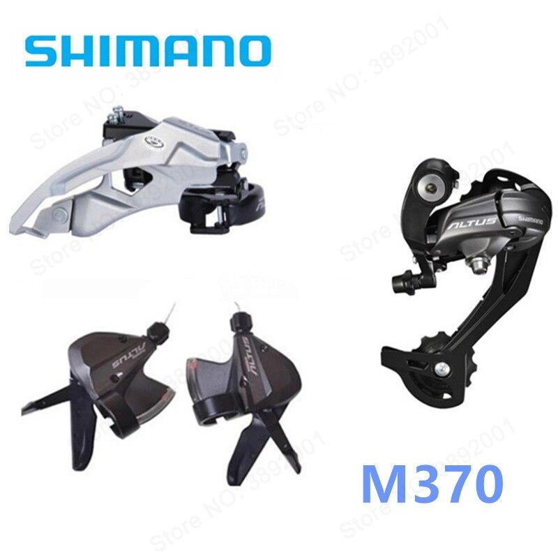 все цены на Shimano ALTUS M370 3 PCS set 3x9 27-Speed Rear Derailleurs+Front Derailleurs +Shifter lever Groupset онлайн