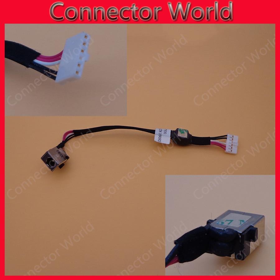 Для ноутбука ACER ASPIRE, разъем питания постоянного и переменного тока, шлейф с кабелем