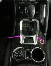 Автомобильный дизайн ABS Хром Передач Обшивка Декоративная Крышка Modling Украсить Для Peugeot 3008 автомобильные аксессуары