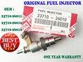 Bico Injetor de Combustível Original FEITO EM JAPPAN 23710-26011 23710-26010 23710-26012 PARA TOYOTA LEXUS AVENSIS