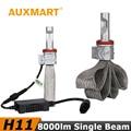 Auxmart H11 Car LED Headlight Kit H8 H9 Auto Copper Cooling Belt CREE Chips CSP Led 72w/set Fog Light for Audi BMW Ford Toyota