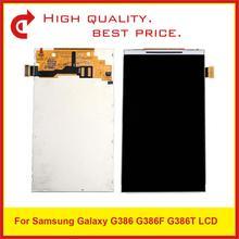 """10 قطعة/الوحدة 4.5 """"لسامسونج غالاكسي G386 G386F G386T شاشة الكريستال السائل شاشة Pantalla رصد استبدال"""