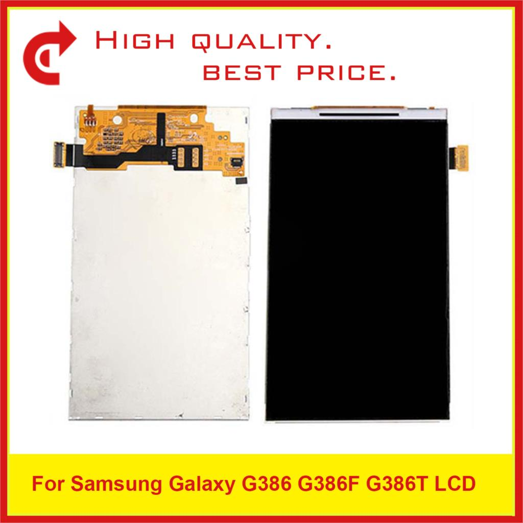 """10Pcs/Lot 4.5"""" For Samsung Galaxy G386 G386F G386T Lcd Display Screen Pantalla Monitor Replacement-in Mobile Phone LCD Screens from Cellphones & Telecommunications"""